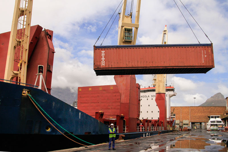Angola Container Shipping