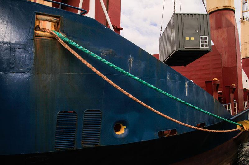 Shipping to Angola