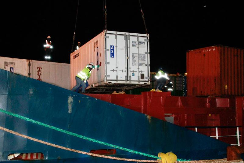 Angola Shipping