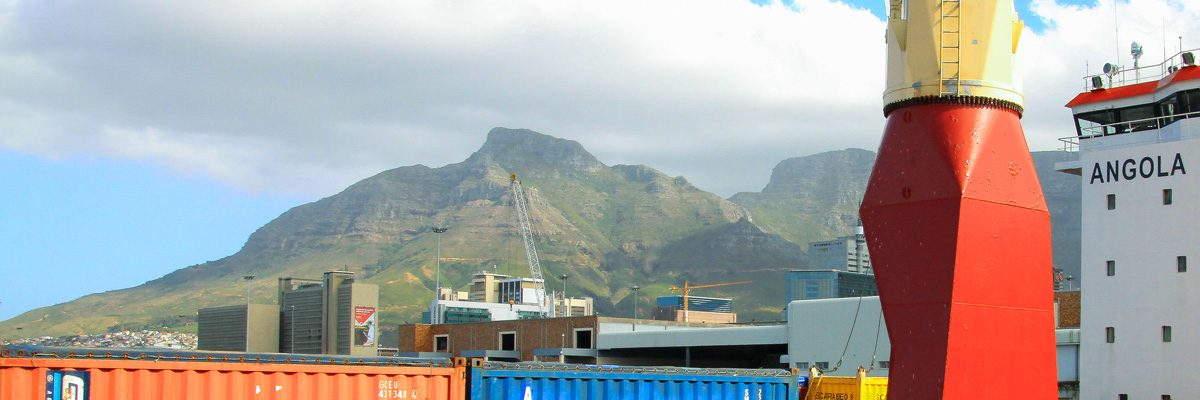 Container shipping Cape Town